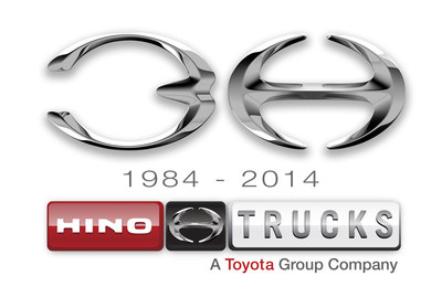 HINO TRUCKS CELEBRATES 30 YEARS IN THE UNITED STATES