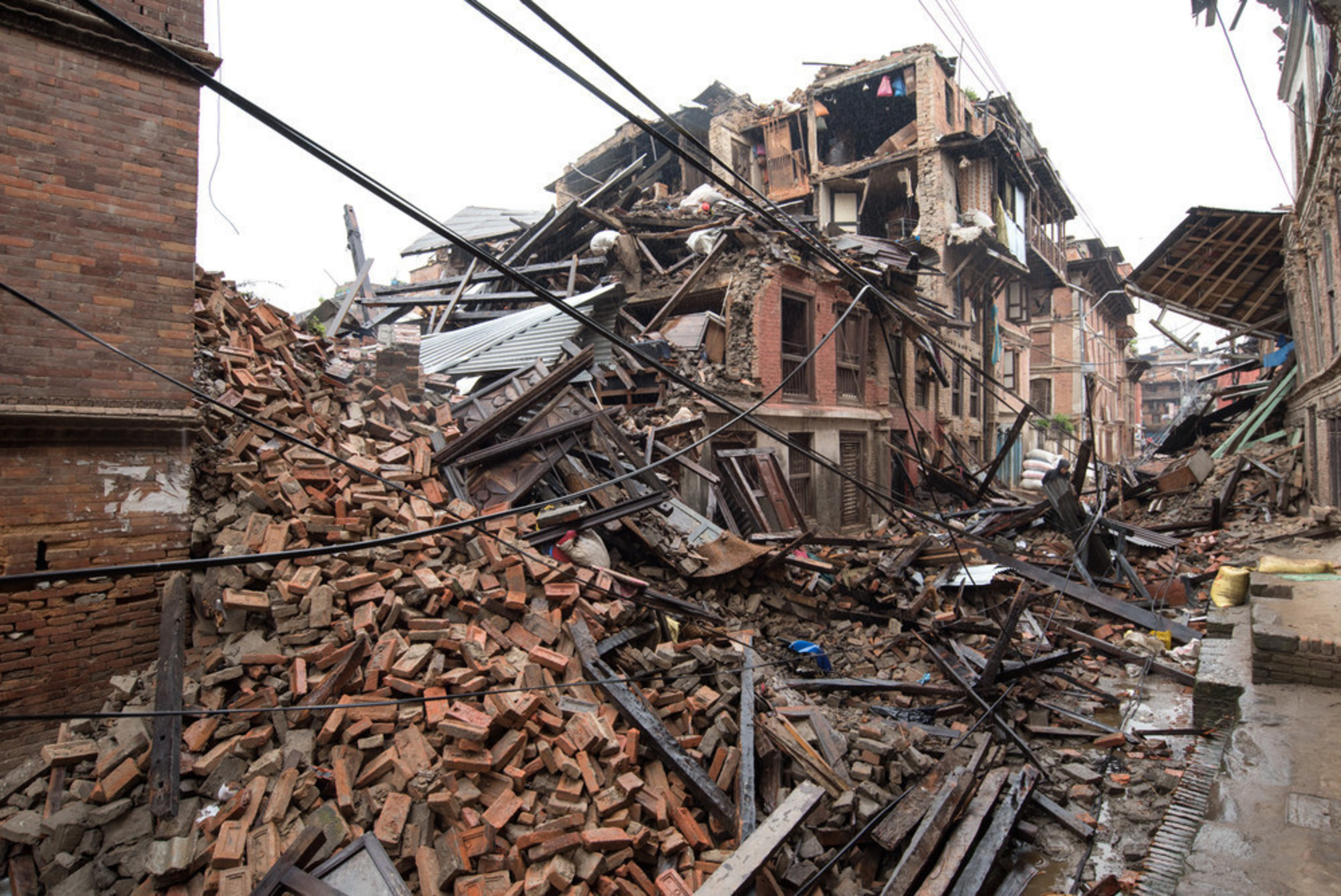 The 7.8 magnitude earthquake that struck Nepal killed more than 8,000 people and demolished half a million homes.