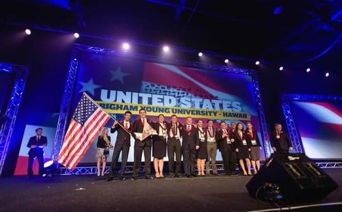 Enactus World Cup 2015 Team United States of America (PRNewsFoto/Enactus) (PRNewsFoto/Enactus)