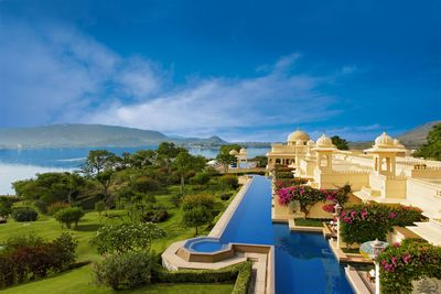 "Premier Rooms with Semi Private Pools âeuro"" The Oberoi Udaivilas, Udaipur (PRNewsFoto/Oberoi Hotels & Resorts)"