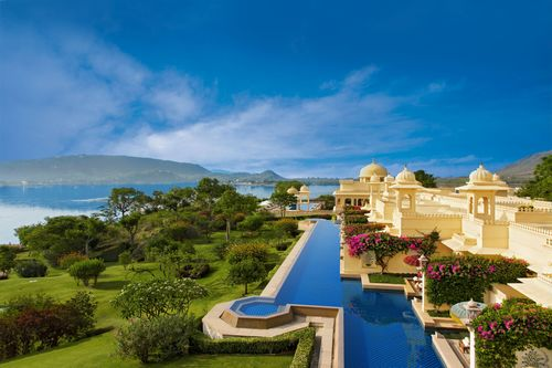 "Premier Rooms with Semi Private Pools âeuro"" The Oberoi Udaivilas, Udaipur (PRNewsFoto/Oberoi Hotels & ..."