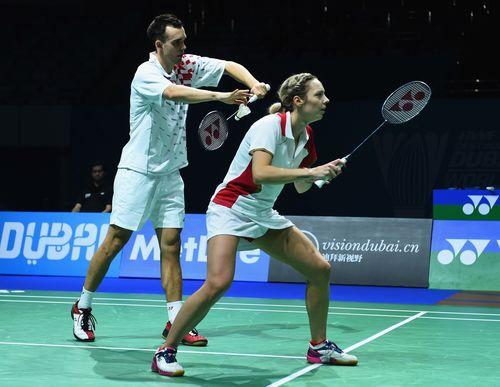 Chris and Gabby Adcock (PRNewsFoto/BWF DESTINATION DUBAI)