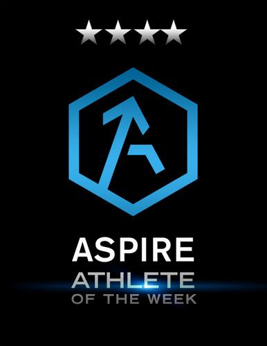 ASPIRE Athlete of the Week.  (PRNewsFoto/ASPIRE Beverage Company)