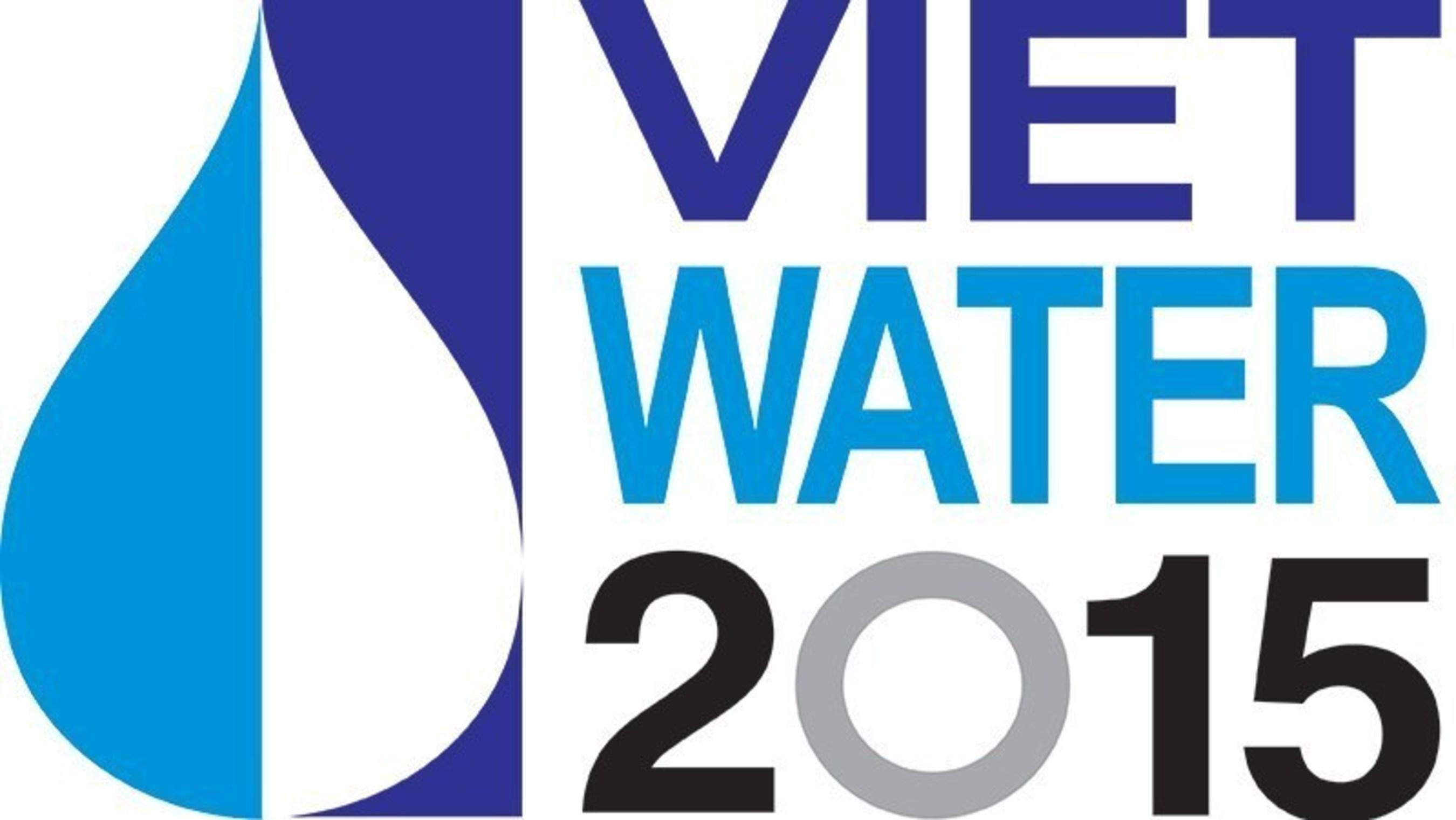 Vietwater 2015 Logo