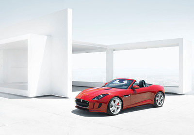Jaguar unveils the all-new F-TYPE.  (PRNewsFoto/Jaguar)