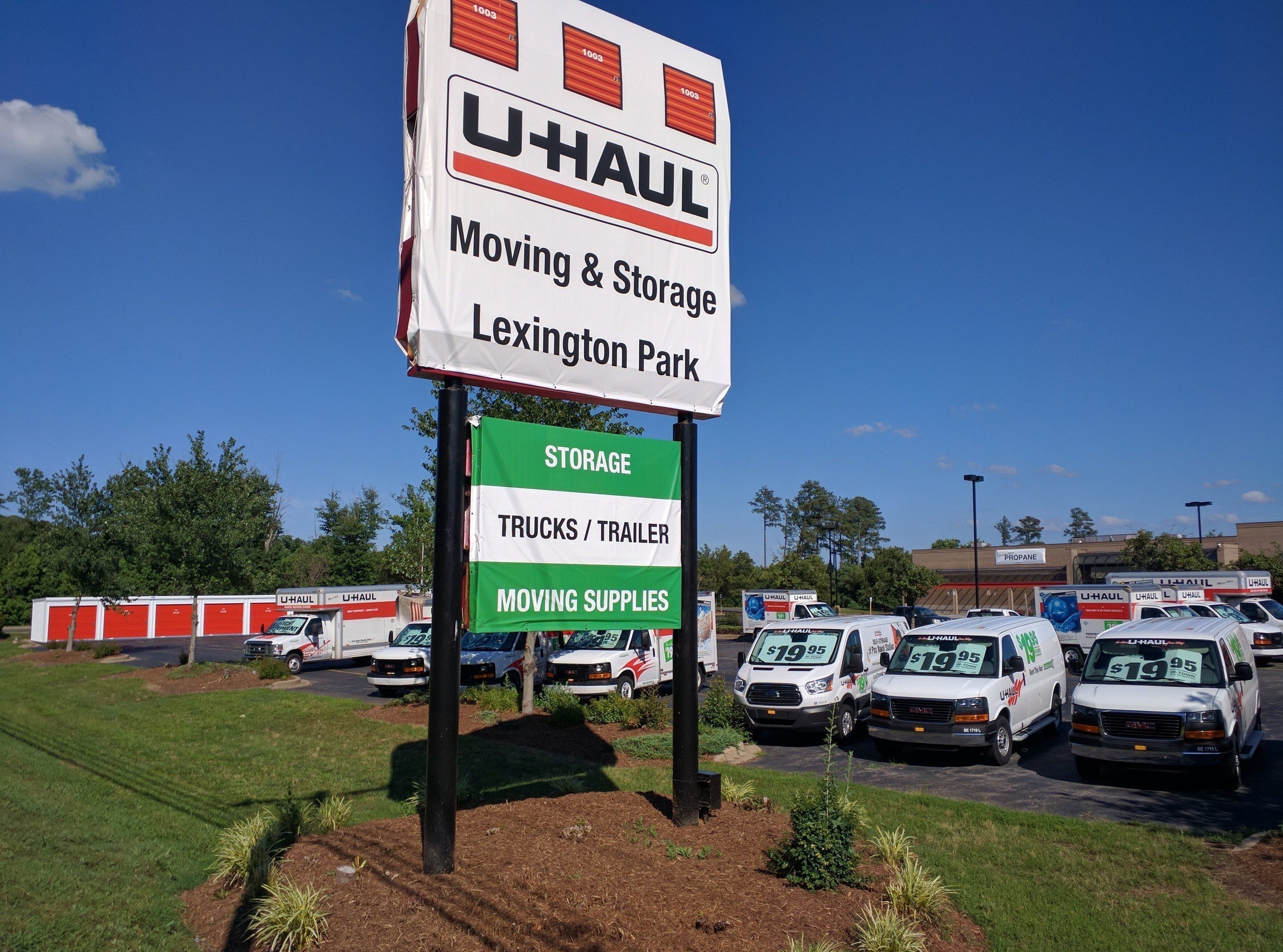 U-Haul is incorporating its adaptive reuse practices to convert a former McKay's Supermarket into Lexington Park's first full-service U-Haul store for the do-it-yourself mover.