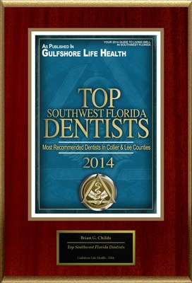 "Brian G. Childs Selected For ""Top Southwest Florida Dentists"" (PRNewsFoto/American Registry)"