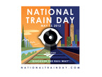 Join America on May 12th to celebrate National Train Day presented by Amtrak.  (PRNewsFoto/Amtrak)