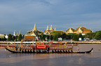 The Royal Kathin Barge Procession to Present Monastic Robes. (PRNewsFoto/Tourism Authority of Thailand)