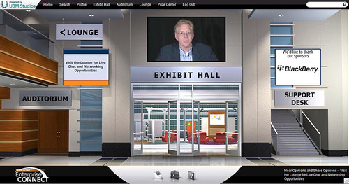 Enterprise Connect Virtual Event Connects Enterprise Managers and Decision-Makers in a 3D