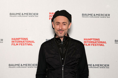 Baume & Mercier Serves As Lead Sponsor Of Hampton's International Film Festival. Alan Cumming seen here on the red carpet at the event.  (PRNewsFoto/Baume & Mercier)