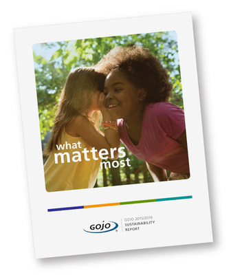 The GOJO Purpose, Saving Lives and Making Life Better Through Well-Being Solutions, inspires our deep commitment to sustainability. We see a tremendous opportunity to connect people with better health for a safer, brighter future and a better world--this is what matters most.