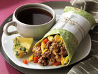 Beef Up Your Breakfast With A Delicious Beef Breakfast Burrito!  (PRNewsFoto/The Beef Checkoff, Jennifer Marx)