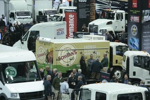 More than 10,000 vocational truck industry professionals gathered at the Indiana Convention Center in ...