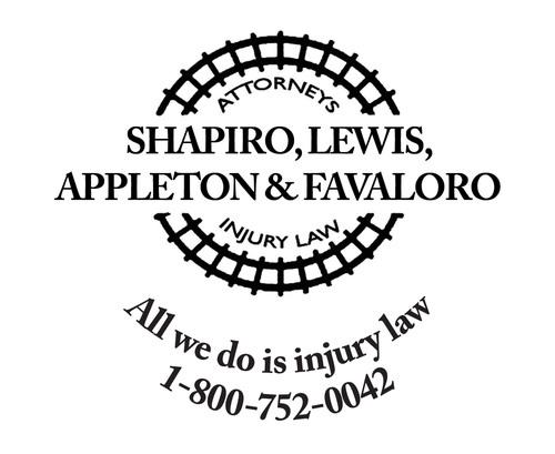 Shapiro, Lewis, Appleton & Favaloro Logo. (PRNewsFoto/HS Injury Law) (PRNewsFoto/HS INJURY LAW)