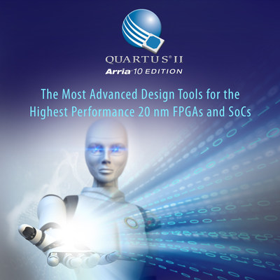 The most advanced design tools for 20nm FPGAs and SoCs.