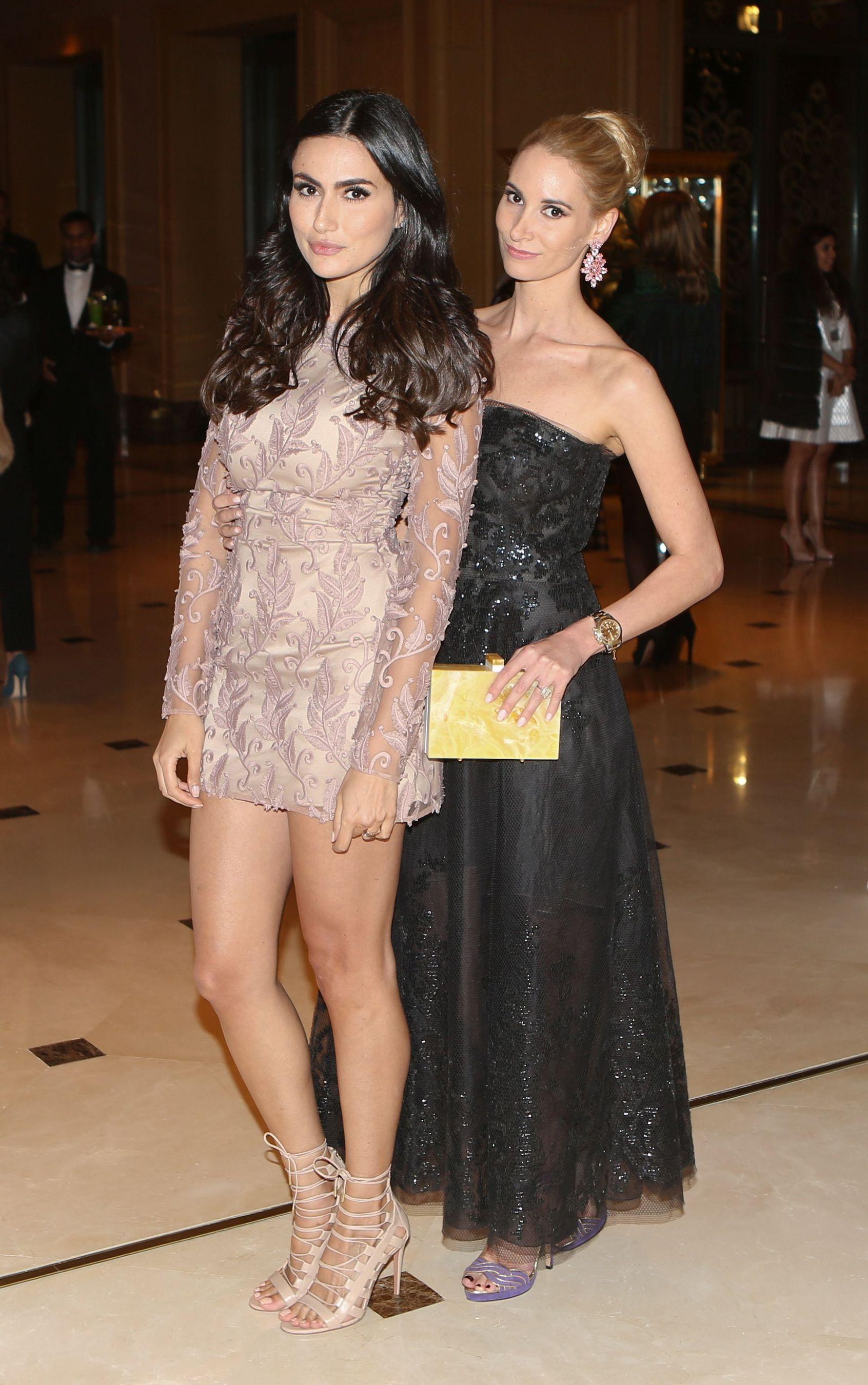 Diala Makki and Elizabeth Whiston Dew (PRNewsFoto/Farfetch and Style_com_Arabia)