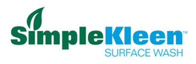 SimpleKleen(TM) Surface Washes clean as well as Muriatic acid without the hassles of protective gear and costly waste-water contamination and disposal issues. Introduced on Earth Day, the biodegradable products are available just in time for spring project clean up.  (PRNewsFoto/Carlisle Coatings & Waterproofing)