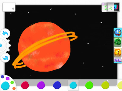 Drawp iPad app allows you to create beautiful drawings to share with friends and family through a single-swipe.