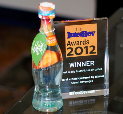 """Tea Of A Kind Clinches """"Best Ready-to-Drink Tea Or Coffee"""" Title At The 2012 InterBev Awards"""