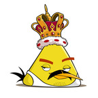Freddie Mercury as an Angry Bird.  (PRNewsFoto/Rovio Entertainment)