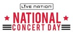Live Nation Celebrates Summer's Biggest Music Tours With 2nd Annual National Concert Day Show And $20 Ticket Offer