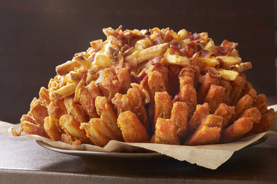 The limited time Loaded Bloomin' Onion is available at Outback Steakhouse now through August 2.