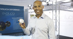 "Baseball great Mariano Rivera ready to ""pitch"" his one-of-a-kind commemorative LED Light Up baseball developed by Evolucia (ILED).  Evolucia and Mariano developed the baseball to highlight Rivera's career and to encourage energy efficiency. The LED baseball features Evolucia's high performance LED light sources. (PRNewsFoto/Evolucia Inc.)"