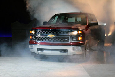 The highly-anticipated Chevy Silverado is expected to arrive at Bill Jacobs Joliet in the upcoming days.  (PRNewsFoto/Bill Jacobs Automotive Group)