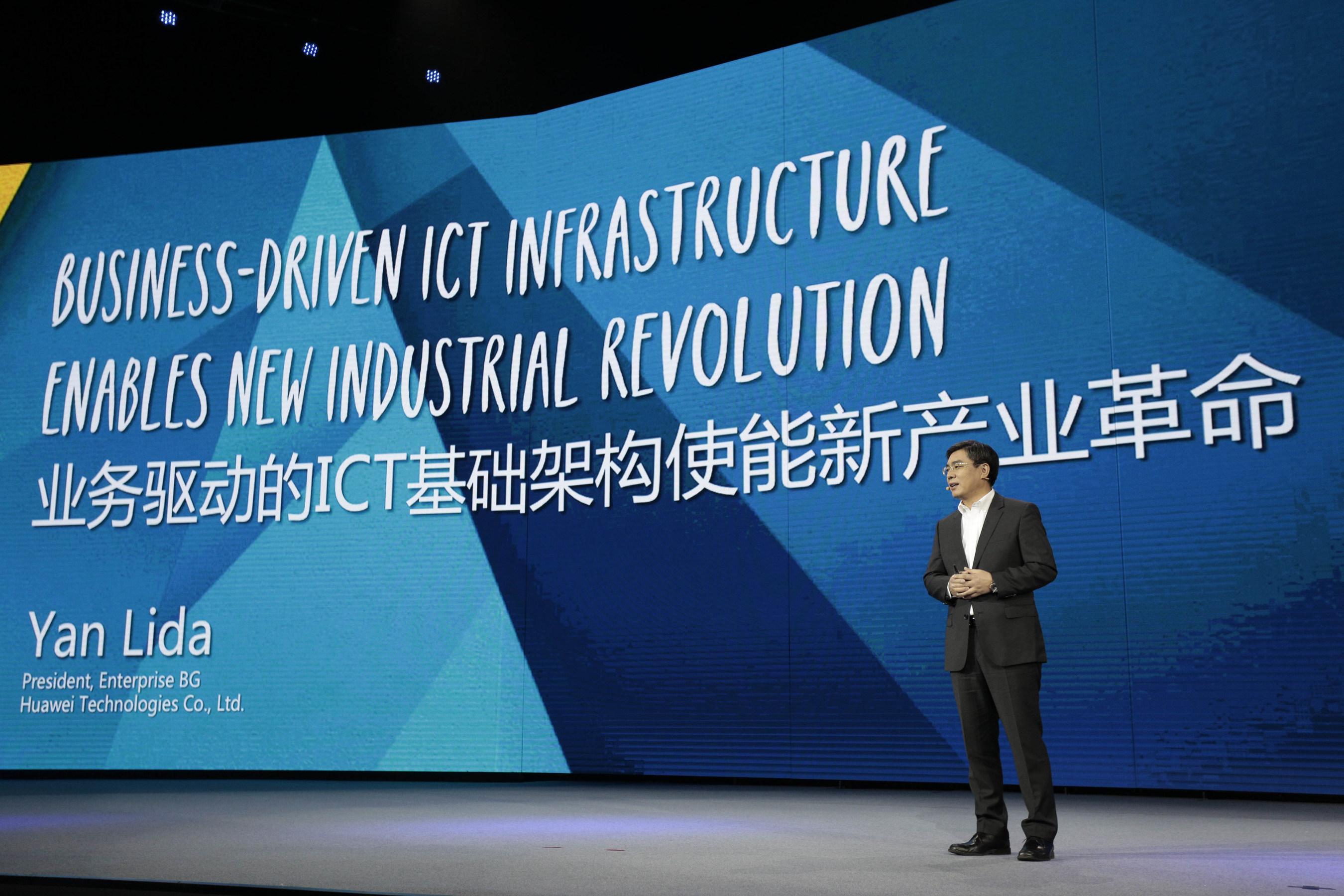 Huawei apresenta princípio diretor de sua infraestrutura de TIC voltada para a empresa no Huawei