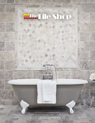 The Tile Shop unveils its 2017 Design Catalog, showcasing the latest products, design tips and more.