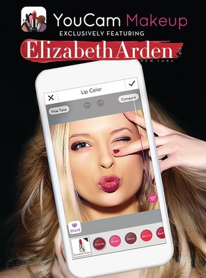 Elizabeth Arden and Perfect Corp. partner to create a cutting-edge digital beauty experience.  The integration of a comprehensive selection of Elizabeth Arden products into popular YouCam Makeup app reinvents the cosmetic shopping experience.