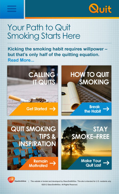 Quit.com Launches as Comprehensive New Resource to Help Smokers Quit and Stay Smoke-Free