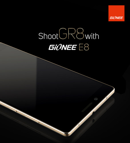 Gionee new flagship smartphone Elife E8