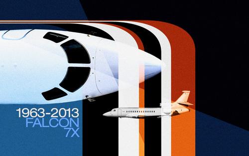 Back to the Future with Dassault Falcon's Retro Calendar