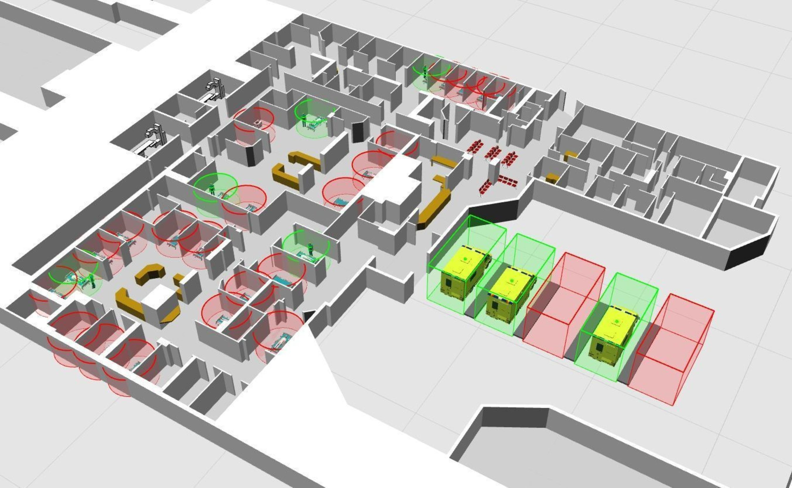 Ubisense Awarded Two Projects by SBRI Healthcare to Improve Processes in NHS Accident and Emergency Services (A&E)