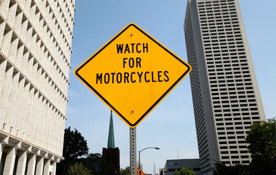 "Allstate is proposing to install 20 ""Watch for Motorcycles"" signs in the U.S. this year"