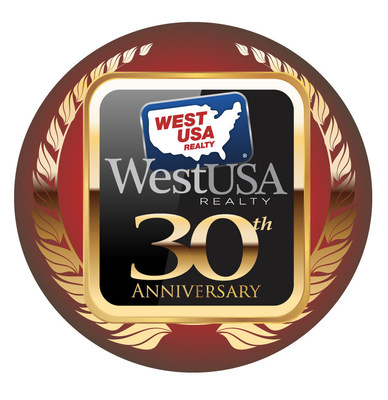 West USA Realty 30 Years Logo