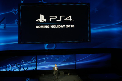 PlayStation  4 coming Holiday 2013.  (PRNewsFoto/Sony Computer Entertainment Inc.)