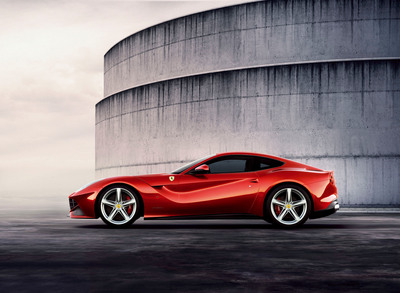 Ferrari Drives Hurricane Sandy Relief with Auction of the First F12berlinetta in the U.S. on Nov. 17 at Formula 1 in Austin, TX.  (PRNewsFoto/Ferrari North America)