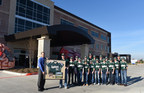 Pearland East Little League All Star team who represented the Southwest Region at the 2014 World Series presented Pearland Medical Center CEO Matt Dixon with a shadow box that has a team jersey and a team photo.