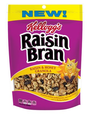 "Raisin Bran ""Raisin & Honey Granola"""