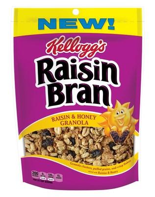 "Raisin Bran ""Raisin & Honey Granola"""