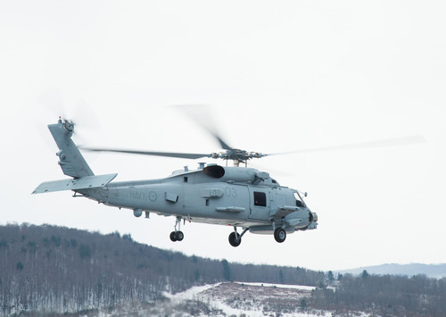 Third and Fourth Royal Australian Navy MH-60R Helicopters Complete Production, Begin Training. (PRNewsFoto/Lockheed Martin) (PRNewsFoto/LOCKHEED MARTIN)