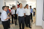 Government Officials from Dongguan, Guangdong province visit the Guangdong Innovation Technology Media Service Center