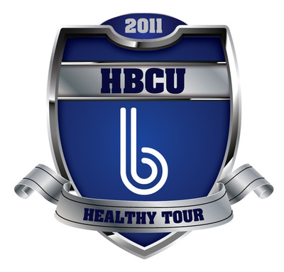 HBCU b Healthy Tour Logo.  (PRNewsFoto/B Holding Group, LLC)
