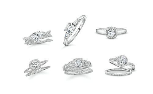 Helzberg Diamonds Goes Platinum: Platinum Bridal Collection To Debut In Select Stores Nationwide