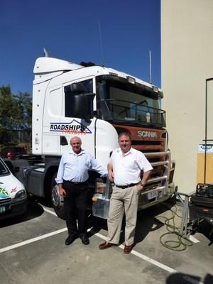 Roadships Directors Bob McClelland and Steven Foster