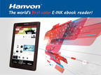 The size of the A4 paper with E Ink Triton(TM) screen, supports WIFI, 3G, PDF etc.  (PRNewsFoto/Hanvon Technology Co., Ltd.)