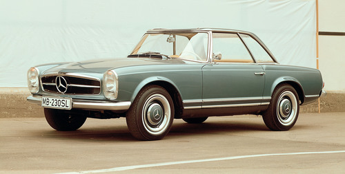 "The Mercedes-Benz ""Pagoda""  SL Turns 50.  (PRNewsFoto/Mercedes-Benz USA)"